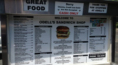 Photo of American Restaurant Odell's Sandwich Shop at 1224 W Pine St, Mount Airy, NC 27030, United States