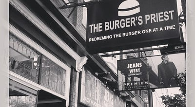 Photo of Burger Joint The Burger's Priest at 463 Queen St W, Toronto, ON, Canada