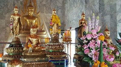 Photo of Temple วัดต้นสน อ.บ้านแหลม เพชรบุรี at Thailand