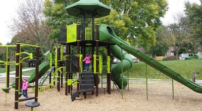 Photo of Playground Knoll's Park at 808 48th St, West Des Moines, IA 50265, United States