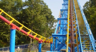 Photo of Theme Park Ride / Attraction Superman - El Último Escape at Six Flags, Tlalpan 14200, Mexico