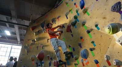 Photo of Climbing Gym Brooklyn Boulders at 575 Degraw St, Brooklyn, NY 11217, United States