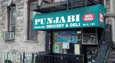 Photo of Deli / Bodega Punjabi Grocery & Deli at 114 E 1st St, New York, NY 10009, United States
