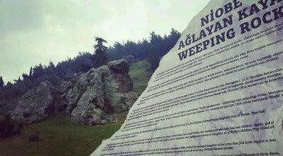 Photo of Historic Site Ağlayan Kaya (Niobe) at Spil Dağı Etekleri, Manisa, Turkey