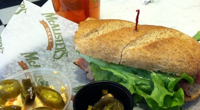 Photo of Sandwich Place McAlister's Deli at 2217 Matthews Township Pkwy, Matthews, NC 28105, United States