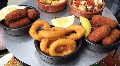 Photo of Spanish Restaurant Escale a tapas at Rue De La Plage, Cap-Ferret 33970, France