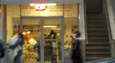 Photo of Burger Joint Five Guys Burgers & Fries at 36 W 48th St, New York, NY 10036, United States