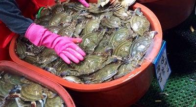 Photo of Fish Market 소래포구종합어시장 at 남동구 소래역로 12, 인천광역시 21673, South Korea