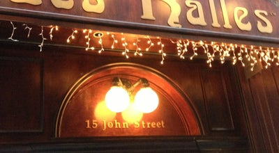 Photo of French Restaurant Les Halles Bar & Grill at 15 John Street, New York, NY 10038, United States