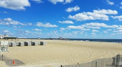 Photo of Beach Belmar beach at 18th Avenue, Belmar, NJ 07719, United States