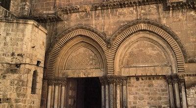 Photo of Church Church Of The Holy Sepulchre / כנסיית הקבר at Between Suq Khan E-zeit And Christian Quarter Rd., Christian Quarter, Jerusalem, Israel