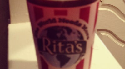 Photo of Ice Cream Shop Rita's of Livingston at 142 S Livingston Ave, Livingston, NJ 07039, United States