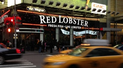 Photo of Seafood Restaurant Red Lobster at 5 Times Sq, New York, NY 10036, United States