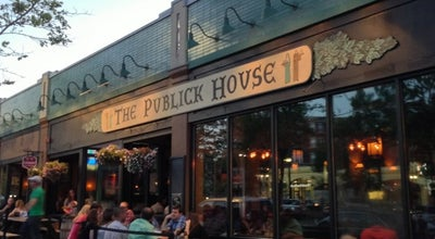 Photo of Gastropub The Publick House at 1648 Beacon St, Brookline, MA 02445, United States