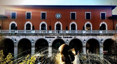 Photo of Train Station Stazione Pisa Centrale at Piazza Della Stazione 9, Pisa 56125, Italy