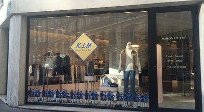 Photo of Clothing Store Maison Kitsuné at 38 Rue Madame, Paris 75006, France