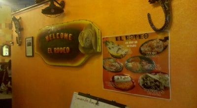 Photo of Mexican Restaurant El Rodeo at 3567 E Main St, Richmond, IN 47374, United States