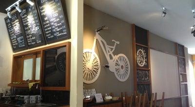 Photo of Cafe Arnold Cycling Cafe at 20 Lorong Teras Jaya 2, Butterworth 13400, Malaysia