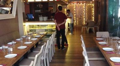 Photo of Mediterranean Restaurant Belkıs Pera at Evliya Celebi Mahalle Simal Sokak Apartiman Belkis 3a/2 Sishane Beyoglu, Istanbul 34430, Turkey