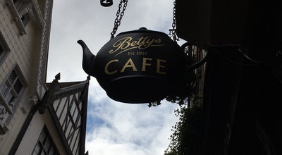 Photo of Tea Room Bettys Café Tea Rooms at 46 Stonegate, York YO1 8AS, United Kingdom