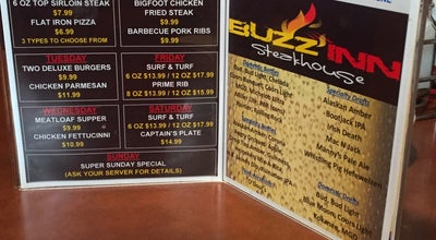 Photo of Steakhouse Buzz Inn Steakhouse & Lounge at 1112 N Wenatchee Ave, Wenatchee, WA 98801, United States