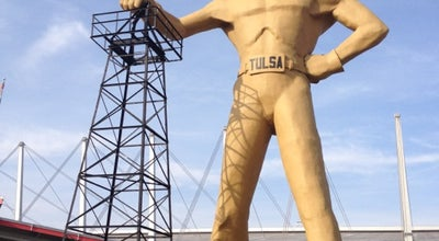 Photo of Historic Site Golden Driller at Expo Square, Tulsa, OK 74114, United States