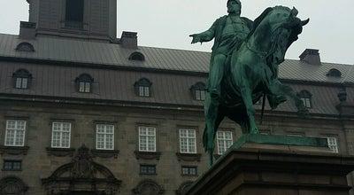 Photo of Government Building The Danish Parliament at Copenhagen, Denmark