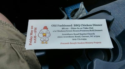 Photo of Church Aversboro Road Baptist Church at 1600 Aversboro Rd, Garner, NC 27529, United States