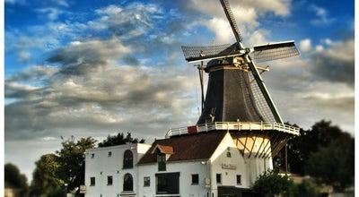Photo of Monument / Landmark Molen De Eendracht at Gouwsluisseweg 46, Alphen a/d Rijn 2405 XS, Netherlands