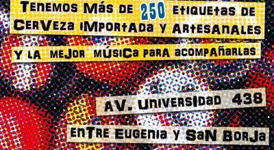 Photo of Bar La Mafia Cervezas Del Mundo at Av Universidad 438, México DF 03600, Mexico