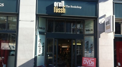 Photo of Bookstore Orell Füssli - The Bookshop at Bahnhofstr. 70, Zurich 8001, Switzerland