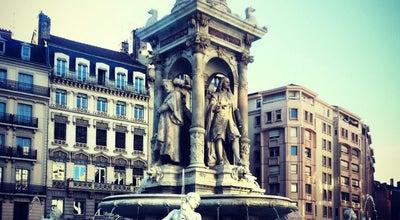 Photo of Plaza Place des Jacobins at Place Des Jacobins, Lyon 69002, France