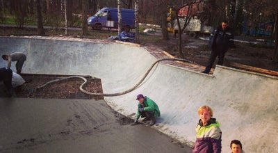 Photo of Skate Park FK-ramps skateplaza at Russia