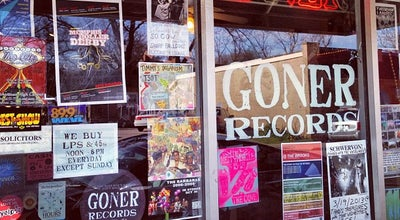 Photo of Record Shop Goner Records at 2152 Young Ave, Memphis, TN 38104, United States