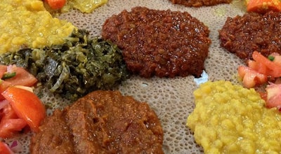 Photo of African Restaurant Zenebech Injera at 608 T St Nw, Washington, DC 20001, United States