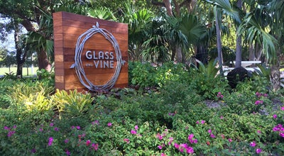 Photo of New American Restaurant Glass and Vine at 2820 Mcfarlane Rd, Miami, FL 33133, United States