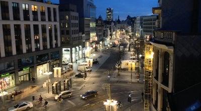 Photo of Pedestrian Plaza Meir at Meir, Antwerpen 2000, Belgium
