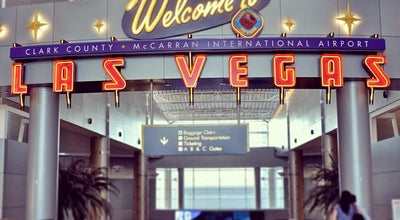 Photo of Airport McCarran International Airport at 5757 Wayne Newton Blvd, Las Vegas, NV 89111, United States