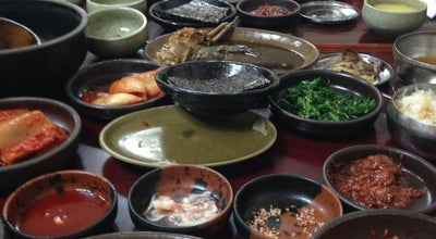 Photo of Korean Restaurant 인동주마을 at 옥암동동 1041-7, South Korea