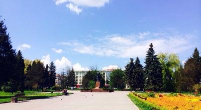 Photo of Outdoor Sculpture Сквер навколо  пам'ятника Данила Галицького at Ukraine