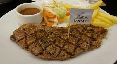Photo of Steakhouse Santa Fe' Steak (ซานตา เฟ่ สเต็ก) at Centralplaza Chaengwattana, Pak Kret 11120, Thailand