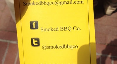 Photo of BBQ Joint Smoked BBQ Co at 506 Stewart St, Charlottesville, VA 22902, United States
