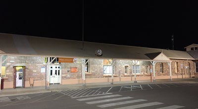 Photo of Train Station Kalgoorlie Train Station at Kalgoorlie, We, Australia