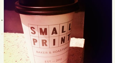 Photo of Cafe Small Print at Brookfield Place, Perth, WA 6000, Australia
