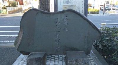 Photo of Historic Site 馬入の一里塚 at 馬入本町5, 平塚市 254-0024, Japan