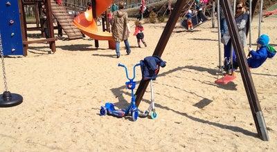 Photo of Playground Plac Zabaw przy Obrońców Tobruku (k. Fortu Bema) at Obrońców Tobruku, Warszawa, Poland