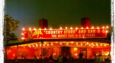 Photo of BBQ Joint Rudy's Country Store And Bar-B-Q at 10623 Westover Hills Blvd, San Antonio, TX 78251, United States