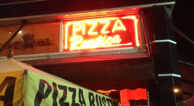 Photo of Pizza Place Pizza Rustica at 863 Washington Ave, Miami Beach, FL 33139, United States