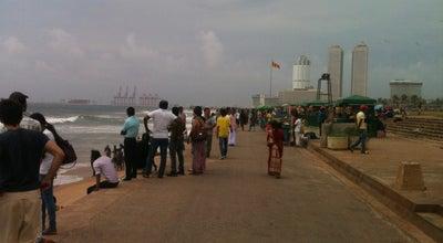 Photo of Beach Galle Face Beach at Sri Lanka