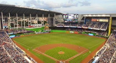 Photo of Baseball Stadium Marlins Park at 501 Marlins Way, Miami, FL 33125, United States